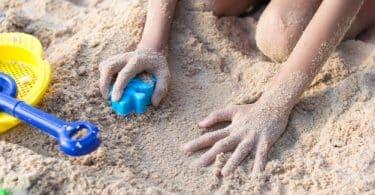 bac a sable enfant