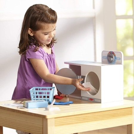 jouet en bois machine à laver