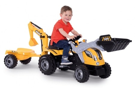 Tracteur Smoby Builder Max tractopelle