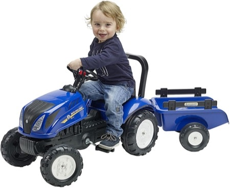 Tracteur à pédales New Holland
