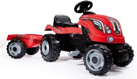 tracteur pedale Smoby farmer xl