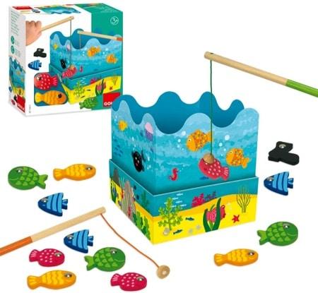 jouet peche en mer aimanté